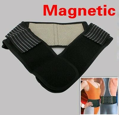 New 2017✔Magnetic Heat Waist Belt For Lower Back Pain Relief Therapy Support