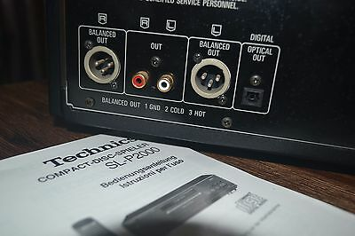 Technics SL-P2000 CD Player High-End Reference