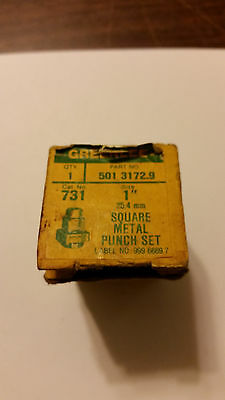 Greenlee 1inch square punch