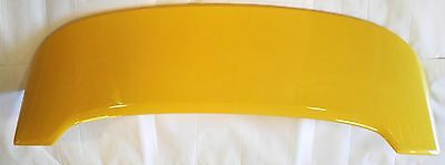 Fiat 500 Abarth Rear Tailgate Roof Spoiler Wing Genuine New Yellow