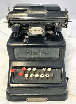 Antique Steampunk Dalton Adding, Listing, Calculating Machine 1904 Parts &Repair