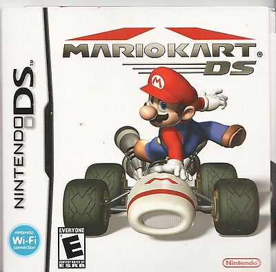 [MANUAL] Nintendo DS MARIO KART DS Instruction Booklet Packet