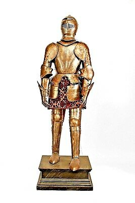 Italian Medieval / Renaissance Style Metal Life Size Suit of Armour