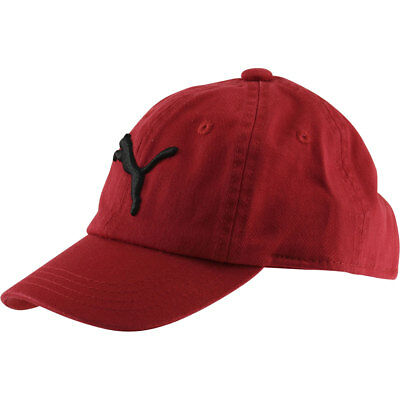 Puma Toddler Boy's Evercat Podium Red/Black Cotton Baseball Cap Hat