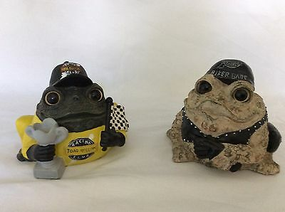 Toad Hollow, Biker Babe & Racing Club Whimsical Figurines