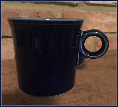 Homer Laughlin Fiestaware ONE Navy Blue Mug Cup Ring Tom Jerry Handle 2 avail