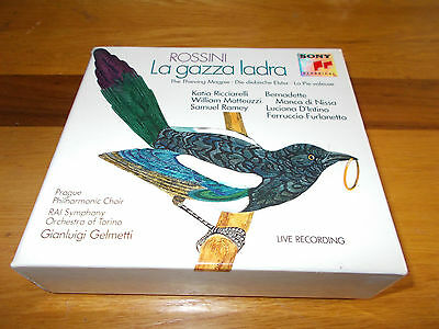 ROSSINI - LA GAZZA LADRA (THE THIEVING MAGPIE)  OPERA 3 x CD BOX SET
