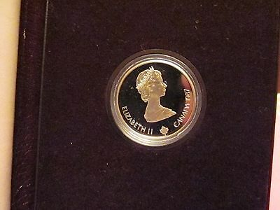 1987 Canada Gold $100 Proof 1/4 oz Commemorative of the 1988 Calgary Olympics