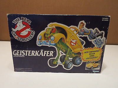 1980's The Real Ghostbusters VW Volkswagen Bug Transformer - BOX FROM GERMANY!