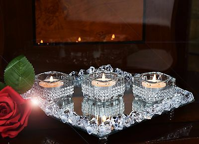 Candle Holders & Tray Base
