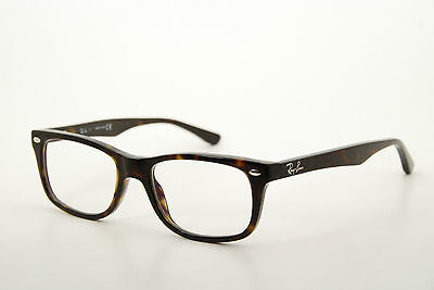 New Authentic Ray Ban RB 5228 2012 Dark Havana 50mm Frames Eyeglasses RX