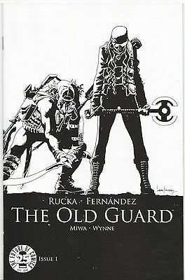 Image Comics THE OLD GUARD #1 25th Anniversary Blind Box Sketch Variant NM/MINT