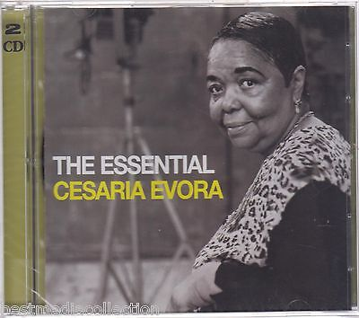 SEALED - The Essential Cesaria Evora CD NEW 2 CD's BRAND NEW