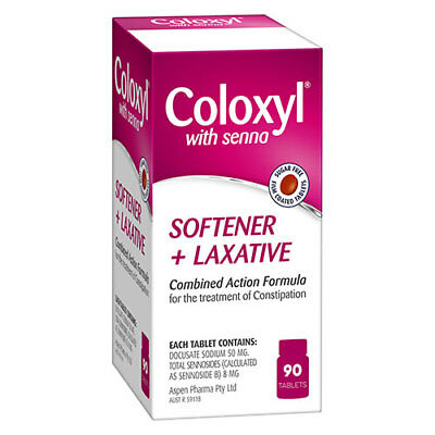 NEW Coloxyl with Senna - 90 Tablets