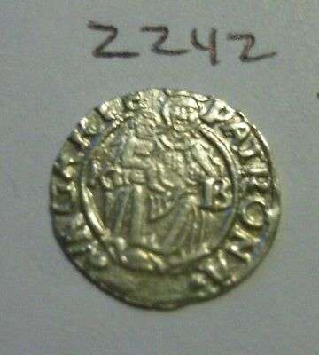 Amazing High Grade 1556 Silver Medieval Coin.(lot#zz42)