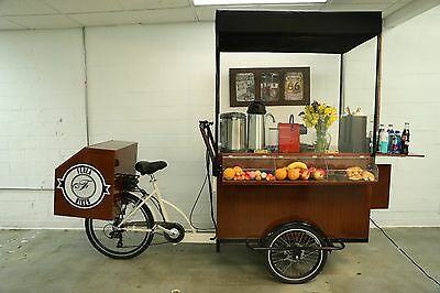 NEW*CAFE ON WHEELS Mobile Food Cart/Vending/Coffee Cart/Coffee Bike