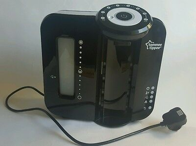 Tommee Tippee Nature Perfect milk Prep Machine Black Used