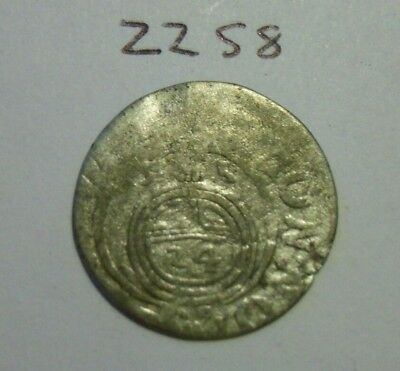 1635 Silver Medieval Coin.(lot#zz58)