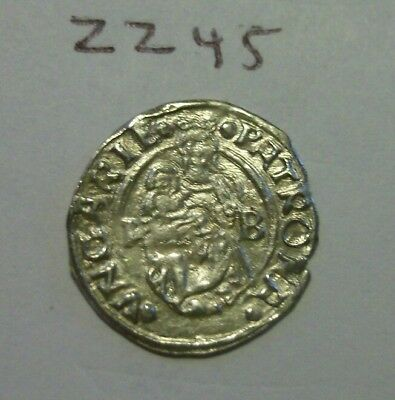 Rare High Grade 1543 Silver Medieval Coin. (lot#zz45)