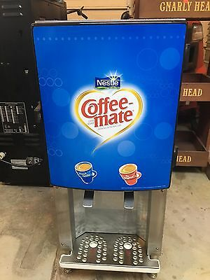 Silver King Refrigerated Cream Dispenser Coffee-Mate Coffee Creamer Gas Station