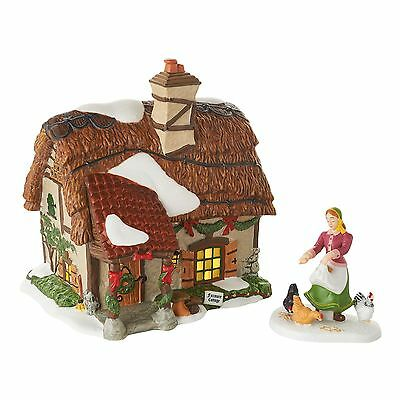 Department 56 Dickens Village - FOXMORE COTTAGE, SET OF 2 - LTD ED - FREE SHIP