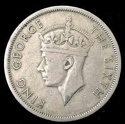 1951 Half Crown King George The Sixth Ungraded Coin