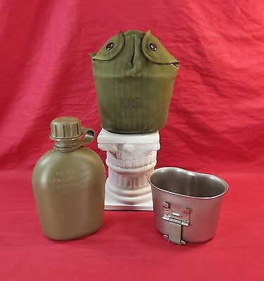 Vietnam War, U.S. M-56 Canteen, Cup and Cover Set  Minty!