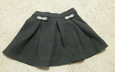 Janie and Jack gray skirt 12-18 months