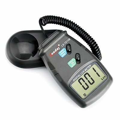 LX-1010B Light Meters Digital Luxmeter Light Meter With LCD Display Range Up To