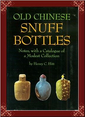 Antique Chinese Snuff Bottles!--Collector's Bible! Detailed! Hard To Find!