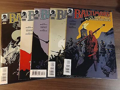 Baltimore The Plague Ships (2010) #1-5 (1,2,3,4,5) Hellboy Mike Mignola