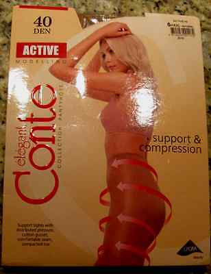 CONTE Shaping Tights Pantyhose Extra Strong Natural Color Size XXL-6