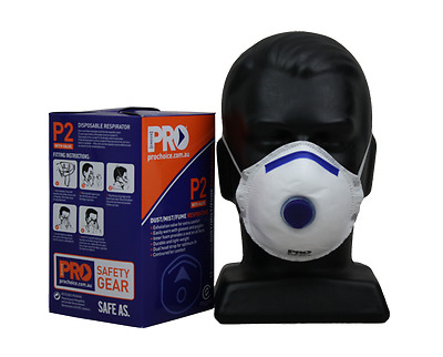 Prochoice Respirator P2 with Valve - Box 12pk - PC321