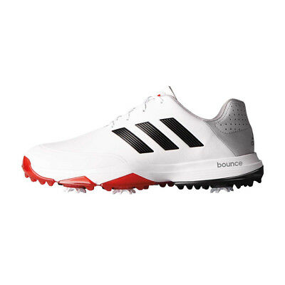 NEW Adidas Adipower Bounce Men's Golf Shoes - White/Black/Red [Size: 13 US]