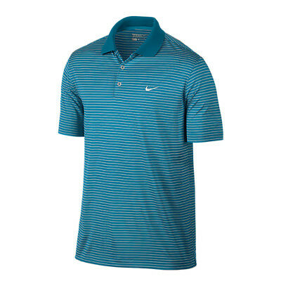 NEW Nike Victory Stripe Polo LC - Lt Blue Lacquer [Size: Small]