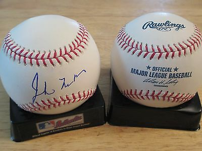 Senator JOHN McCAIN US Navy signed Official Major League Baseball COA