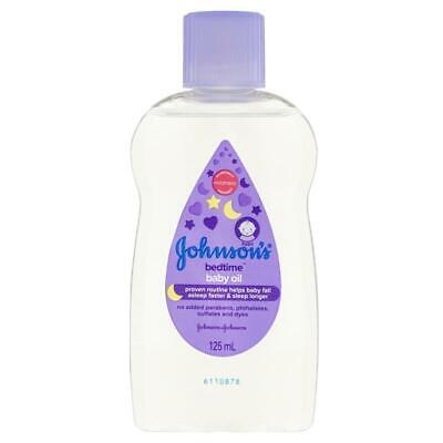 Johnson & Johnson Baby Bedtime Oil 125ml