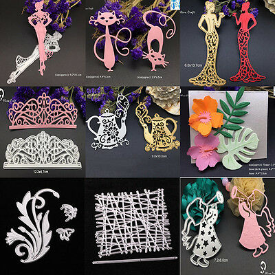 Metal Cutting Dies Stencil Scrapbooking Embossing Album Paper Decor Crafts DIY