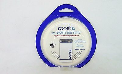 Roost Smart 9V Battery for Smoke and Carbon Monoxide Alarms - Brand New In Box!