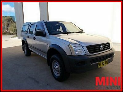 2005 Holden Rodeo RA MY05 LX Utility Crew Cab 4dr Auto 4sp 1105kg 3.5i A