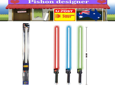 1PC Galaxy Warrior Star Wars Electronic Lightsaber with Motion Activated Sound