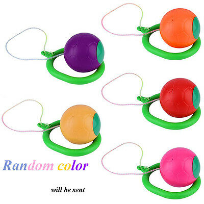 Fitness Outdoor Single Foot Skipping Game Skip Ball Toy Exercise Equitment