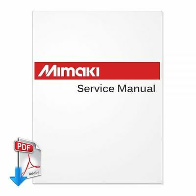 MIMAKI JV3-160SP English Service Manual PDF File - by email