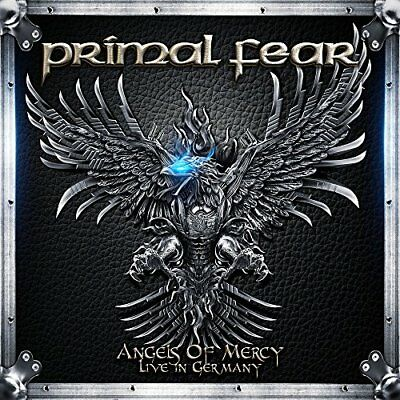 JAPAN CD PRIMAL FEAR Angels Of Mercy Live In Germany with Bonus Track