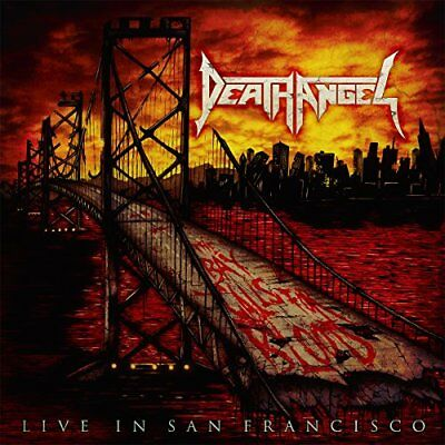 Death Angel The Bay Calls for Blood Live In San Francisco JAPAN CD