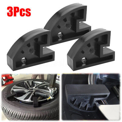 AU 3Pcs Bead Drop Center Depressor Clamp Tire Changer Tools Nylon Run Flat Wheel