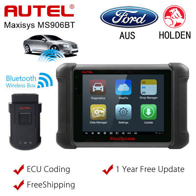 Autel Maxisys MS906BT Wireless OBD2 Auto Diagnostic Tool ECU Coding Better MS906