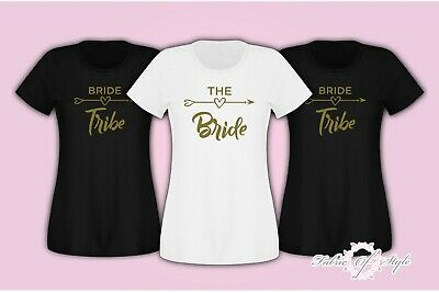 Fast and Free delivery  Hen Do Party Bride Tribe 2018  T-shirt Ladies Female