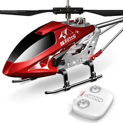 Syma S107 RC Copter Indoor 3.5Ch Remote Control Plane LED Night Helicopter Gyro