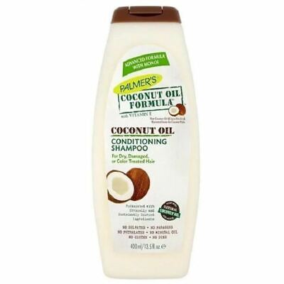 Palmers Coconut Oil Conditioning Shampoo 400ml 1 2 3 6 12 Packs